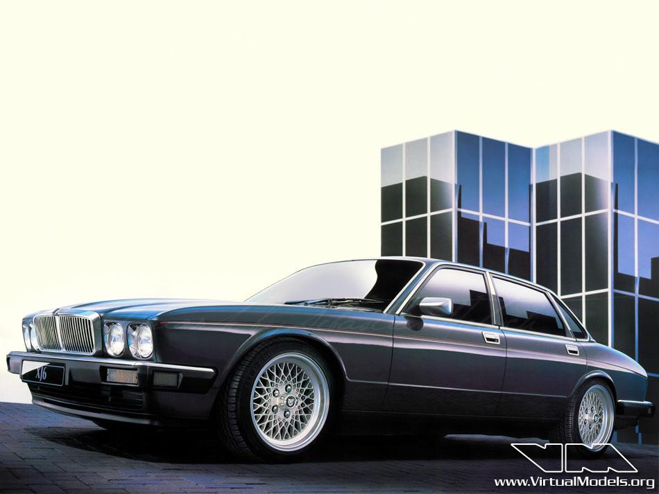 Jaguar XJ6 | photoshop chop by Sebastian Motsch (2013)