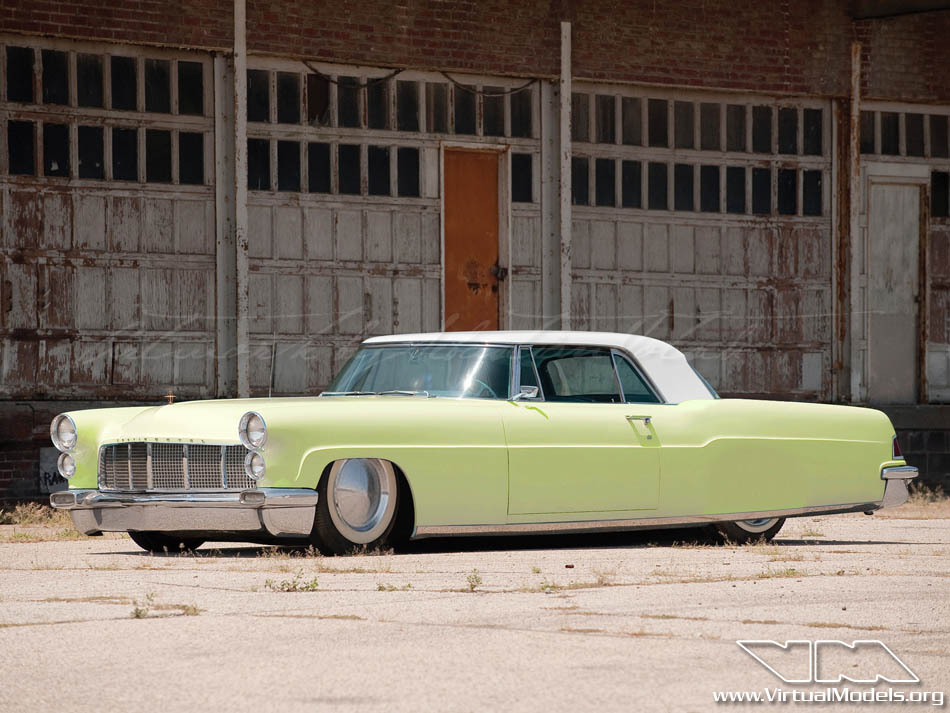 Lincoln Continental Mk2 Custom | photoshop chop by Sebastian Motsch (2010)