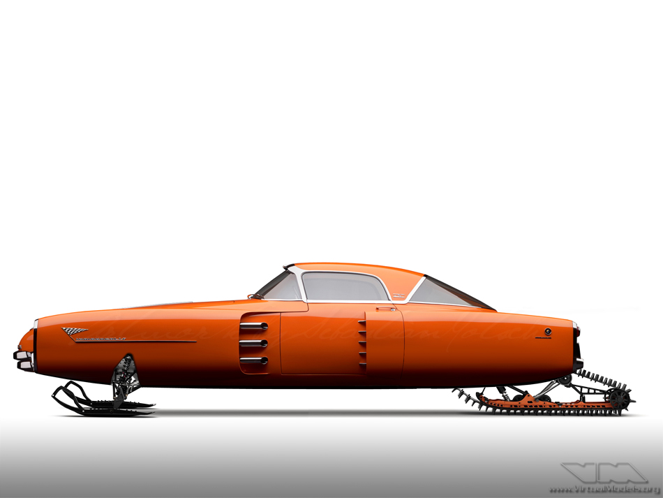 Lincoln Indianapolis Concept SkiDoo | photoshop chop by Sebastian Motsch (2013)