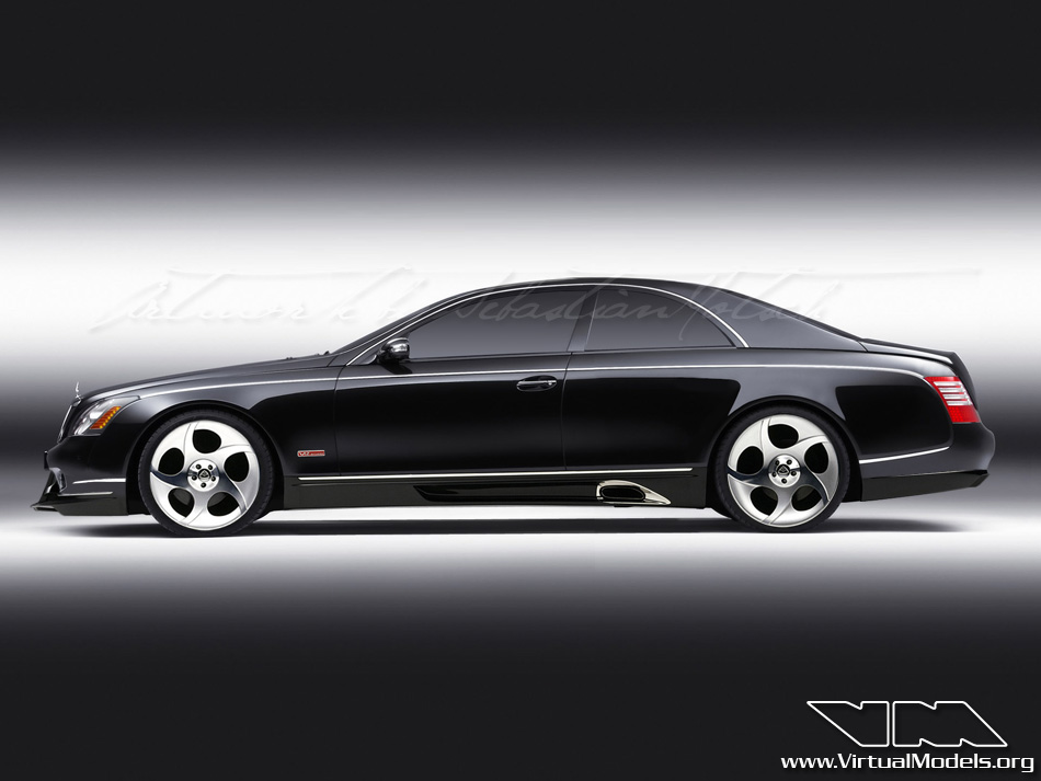 Maybach 57 S Coupé | photoshop chop by Sebastian Motsch (2009)