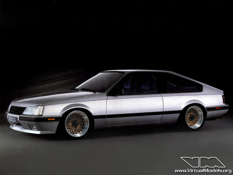 Opel Monza GT/E | photoshop chop by Sebastian Motsch (2013)