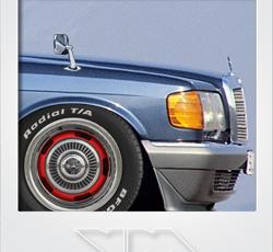 Mercedes-Benz W126 500 SE Drift Missile | photoshop chop by Sebastian Motsch (2016)