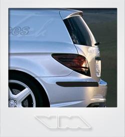 Mercedes-Benz R-Class Delivery Van | photoshop chop by Sebastian Motsch (2010)