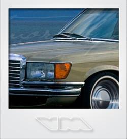 Mercedes-Benz S-Class W116 | photoshop chop by Sebastian Motsch (2010)