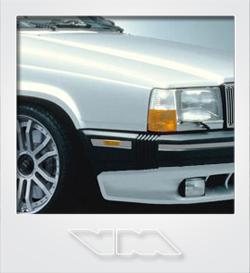 Volvo 740 GLE Turbo | photoshop chop by Sebastian Motsch (2008)