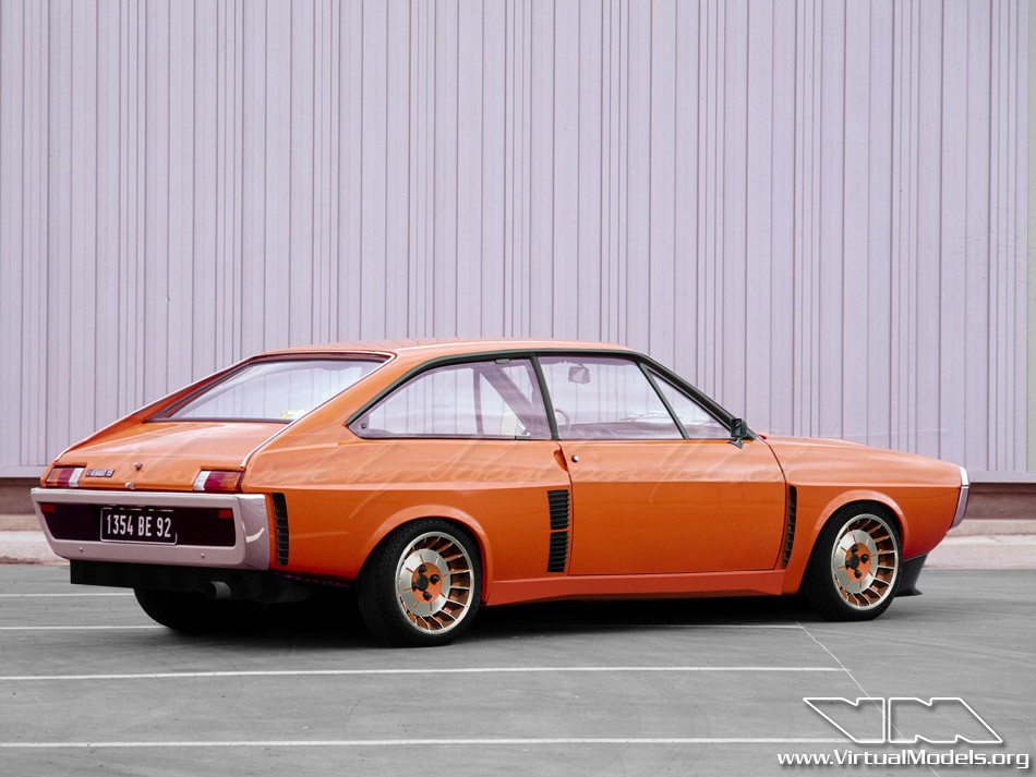 Renault 15 Turbo | photoshop chop by Sebastian Motsch (2011)