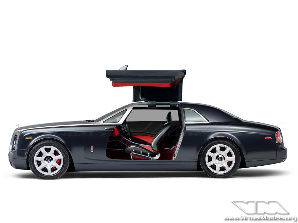 Rolls-Royce 101EX Gullwing Concept | photoshop chop by Sebastian Motsch (2012)