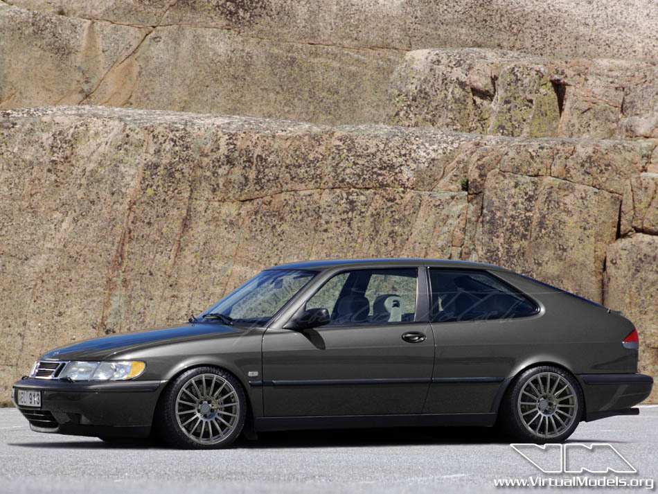 SAAB 9³ | photoshop chop by Sebastian Motsch (2010)
