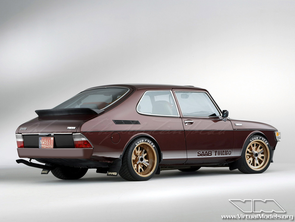 SAAB 99 Turbo | photoshop chop by Sebastian Motsch (2012)