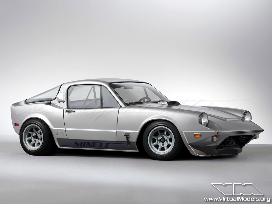 SAAB Sonett Mk1 Club Racer | photoshop chop by Sebastian Motsch (2012)