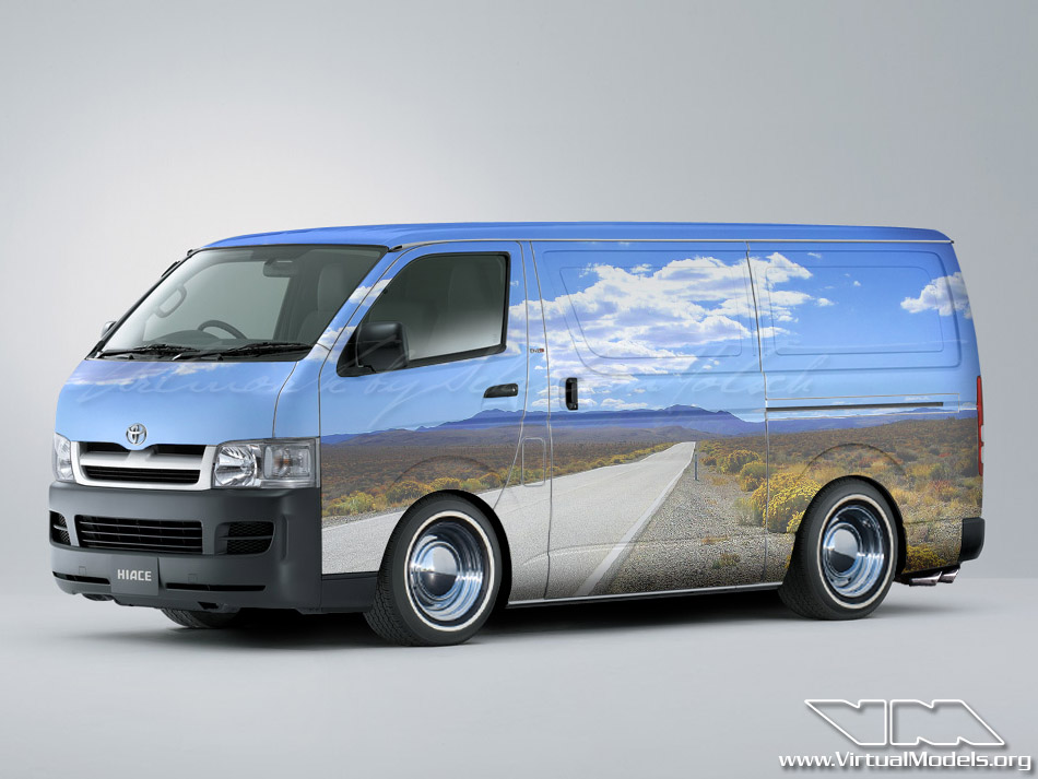 Toyota Hiace H200 | photoshop chop by Sebastian Motsch (2010)
