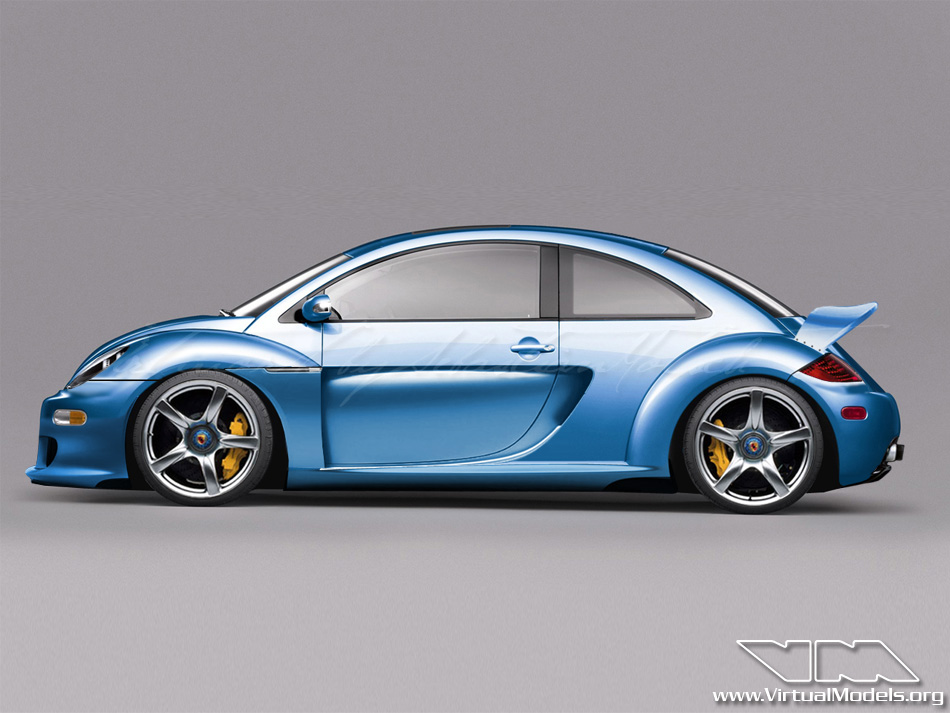 Volkswagen New Beetle CGT | photoshop chop by Sebastian Motsch (2010)