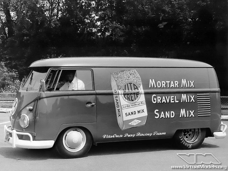 Volkswagen T1 Transporter VitaCrete Dragster | photoshop chop by Sebastian Motsch (2012)