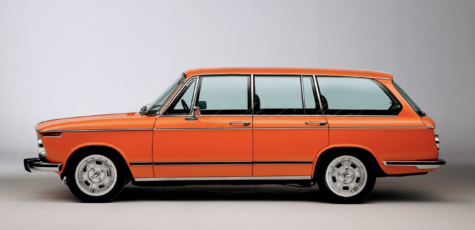 BMW 2002 4-Door Touring Concept | Photoshop Chop by Sebastian Motsch (2016)