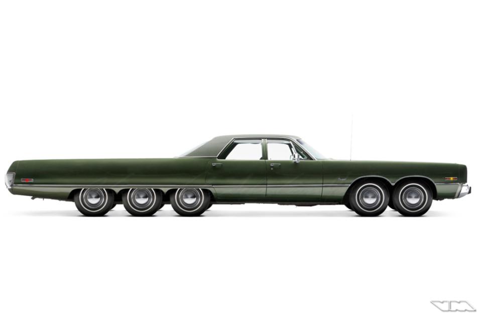 Chrysler Newport Sedan Custom   photoshop chop by Sebastian Motsch (2014)