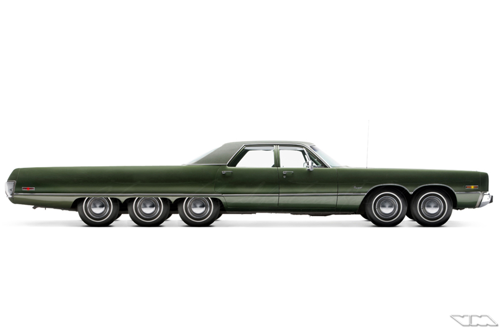 Chrysler Newport Sedan Custom | photoshop chop by Sebastian Motsch (2014)