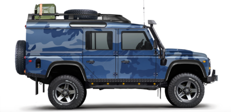 Land Rover Defender 110 Utility Wagon | photoshop chop by Sebastian Motsch (2017)