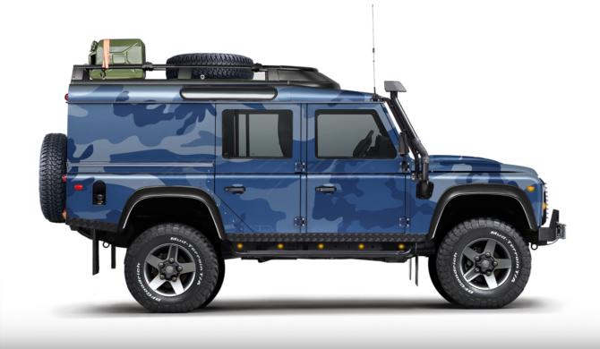 Land Rover Defender 110 Utility Wagon   photoshop chop by Sebastian Motsch (2017)