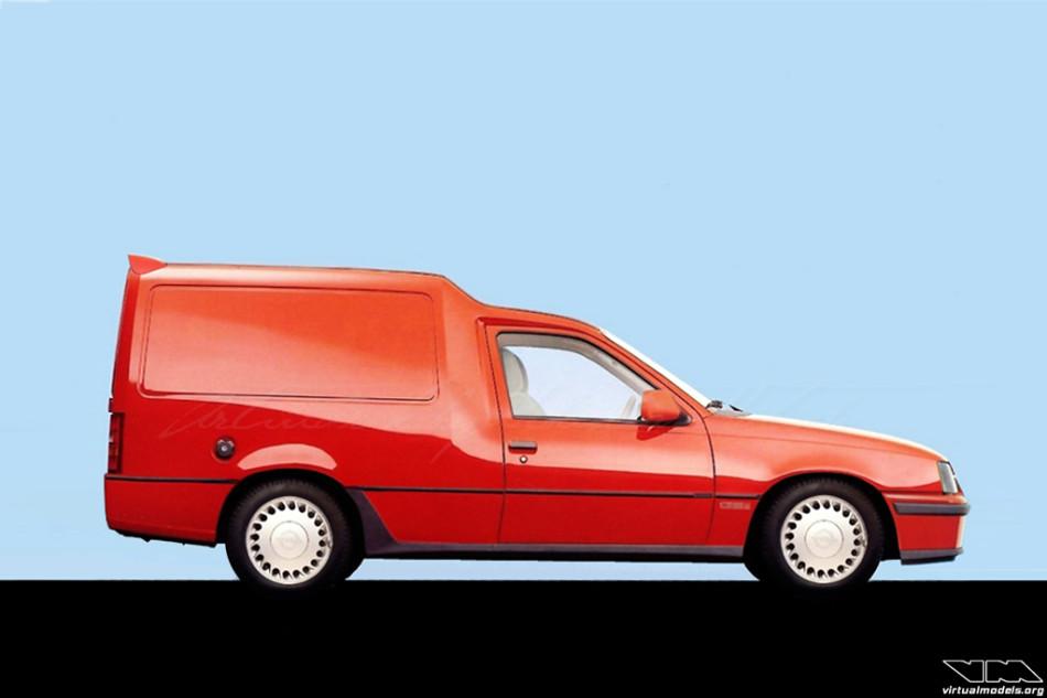 Opel Kadett E GSI Combo | photoshop chop by Sebastian Motsch (2013)