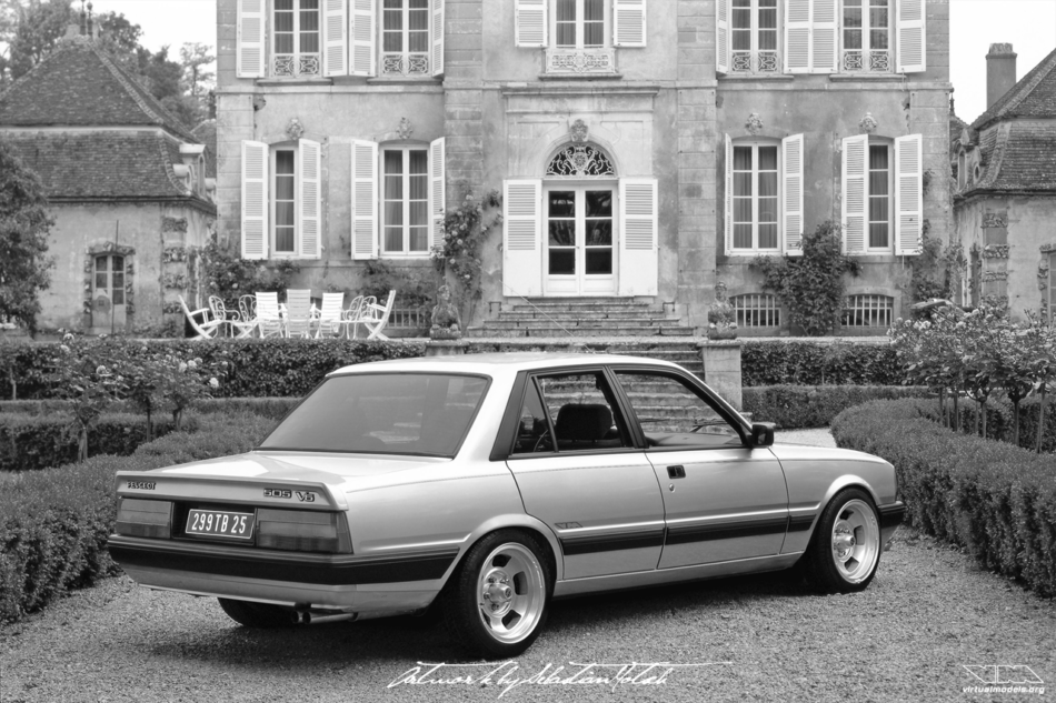 Peugeot 505 V6 | photoshop chop by Sebastian Motsch (2016)