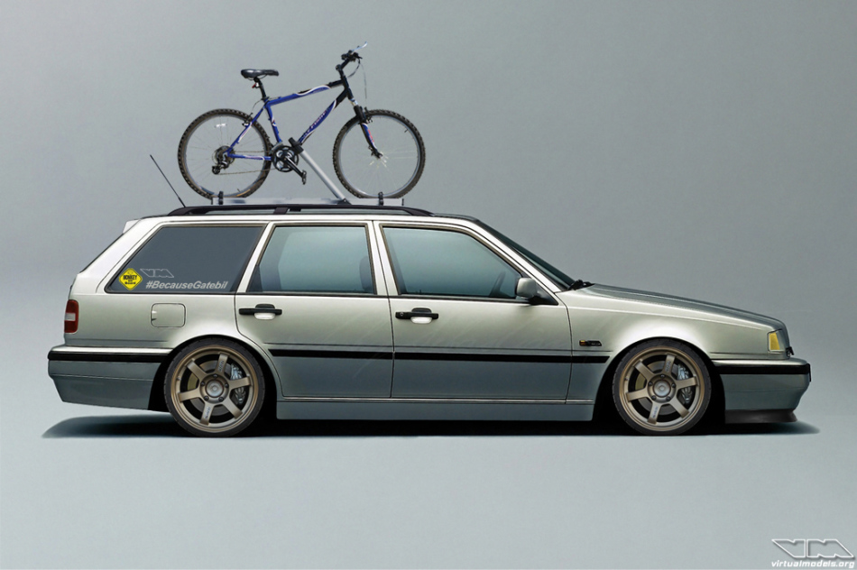 Volvo 460 Wagon | photoshop chop by Sebastian Motsch (2014)
