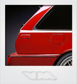 Volvo 480 Turbo Wagon | photoshop chop by Sebastian Motsch (2016)
