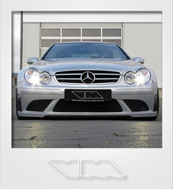 VirtualModels Mercedes-Benz CLK 63 AMG Black Series