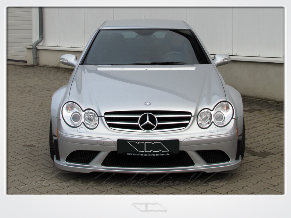 VirtualModels Mercedes-Benz CLK 63 AMG Black Series