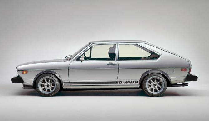 Volkswagen Passat Dasher Turbo   photoshop chop by Sebastian Motsch (2018)