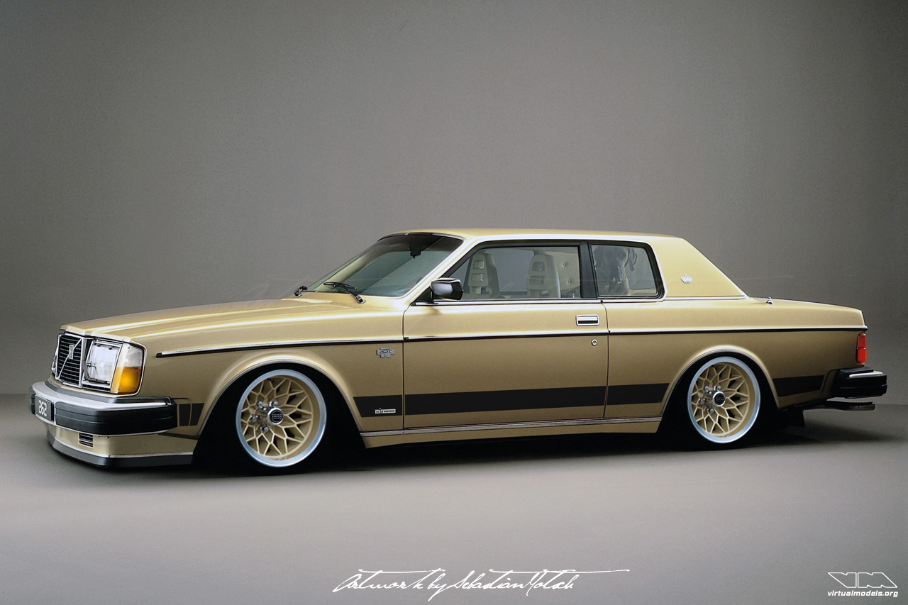 Volvo 262C Coupe Bertone | photoshop chop by Sebastian Motsch (2017)